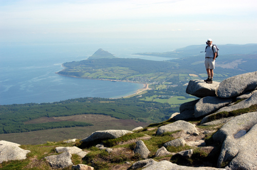 View from Goatfell, Isle of Arran