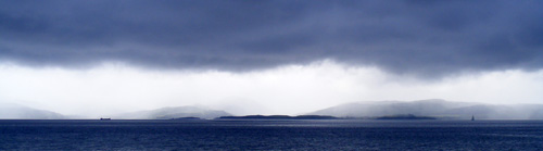 Kintyre from Arran