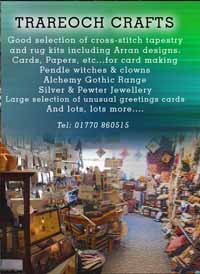 Trareoch Crafts, Isle of Arran